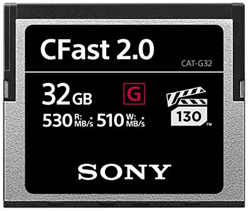 Sony 32 GB CFast 2.0 Professional Flash-Speicherkarte Sony Digital Still Camera