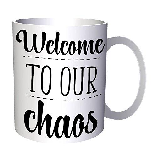 Willkommen In Unserem Chaos 33 cl Tasse s468