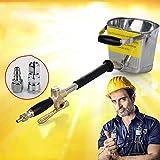 iBasteFR bétonnière électrique Portable mortier béton mortier de Ciment Pistolet...