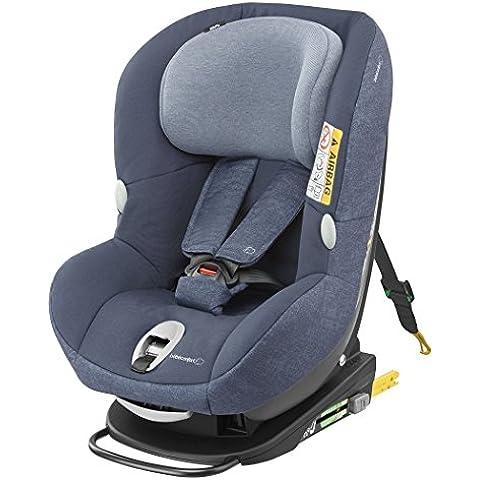 Bébé Confort Milofix - Silla de auto con cojín reductor, grupo 0+/1, color Nomad Blue