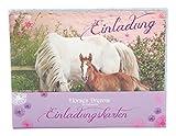 Depesche 5454 - Horses Dreams Einladungskartenset