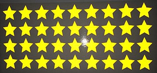 reflektierendes-aufkleberset-sterne-36-stck-orange-reflex-006-orange-2cm-pro-aufkleber-reflexion-leu