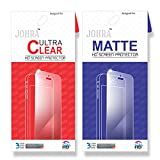 Johra For Lenovo vibe K5 Note Matte HD Screen Scratch Protector Combo Clear Screen Guard For Lenovo K5 Note Screen Guard