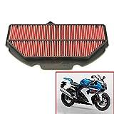 Filtro aria per moto,Filtro aspirazione aria motore 1PCS per Yamaha YZF R1 2007-2008