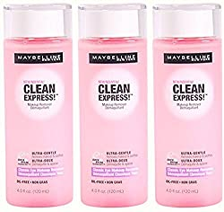 Maybelline New York Clean Express Classic Eye Makeup Remover, Ultra-Gentle, 4 Ounce, (Pack of 3)