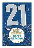 Depesche 5698.033 - Glückwunschkarte mit Musik, 21. Geburtstag