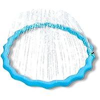 Anillo de spray de agua caliente de verano inflable juguete Sprinkle anillo de juego al aire libre niño niño diversión en césped fiesta playa piscina