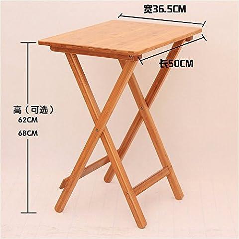 LOSTRYY Ausgang ist einfach wenig Teetisch Tisch tragbaren Tisch Laptop Tisch klappbar,W50 * D36.5 * H68CM