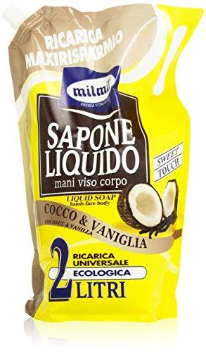 Milmil Sapone Liquido Cocco & Vaniglia 2 l