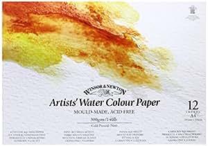 Winsor & Newton A4 Gummed Artists Water Colour Paint Pad