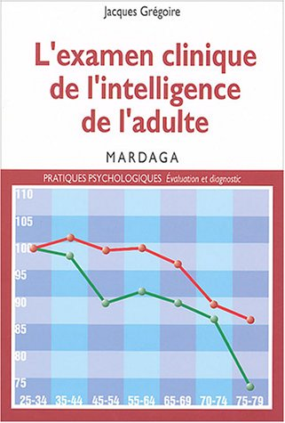 L'examen clinique de l'intelligence de l'adulte. Pour une meilleure interprtation des rsultats des tests d'intelligence