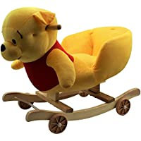 Kids Childrens Animal Rocker Rocking Toddler Infant Baby Toy Gift Roller Seat - Winnie the Pooh