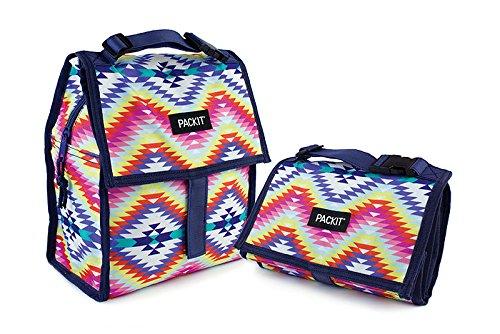 Pack-it PACKIT 2000-0052 Sac-Repas Mixte Adulte, Desert Oasis, 4,4 L