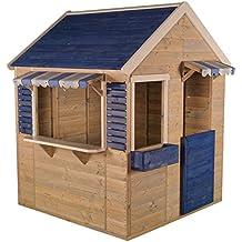 Wendi Toys M17 Maritime House   Casita Infantil de Color Azul para Actividades y Juegos al