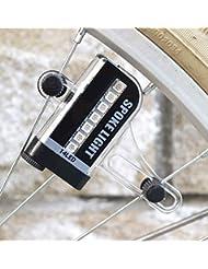 2016Nueva bicicleta proyección 30A todo color mapa intermitente flores Hot Wheels D105