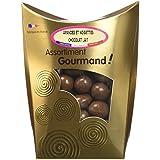 Les douceurs de Valentin Amandes et Noisettes Chocolat Lait Extra Fin 200 g -
