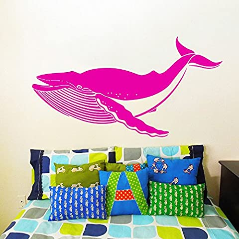 Wall Decals Whale Shark Fish Pattern Sea Animal Nursery Decor Bedroom Vinyl Sticker Wall Decor Murals Wall Decal