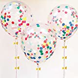 """Best Confettis - TOYXE 40335 12"""" Inch Confetti Balloons Review"""