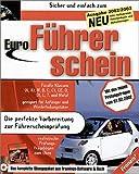 Sicher und einfach zum Euro-Führerschein, CD-ROM u. Buch Die perfekte Vorbereitung zur Führerscheinprüfung. Für Windows 95, 98, Me, XP. Für alle Klassen. Mit den neuen Prüfungsfragen v. 1.2.2002. Inkl. Fahrtenbuch u. Automanager