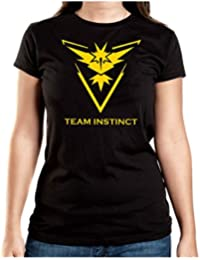 Team Instict T-Shirt Girls Black Certified Freak
