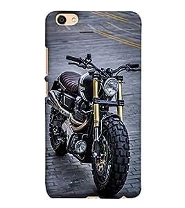 Takkloo Black bike classy motor bike,luxury motorcycle) Printed Designer Back Case Cover for Vivo V5