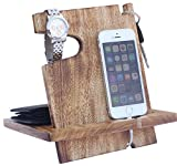 MUTTERTAGSGESCHENKE - Mango Wooden Androide Docking Station, 50th Anniversary Geschenke für Paar, Funny Fathers Day Geschenke, iPhone 6s plus, 6s, 6 plus, 6, 5, 5s, 4, Samsung Galaxy (Für den täglichen Gebrauch)