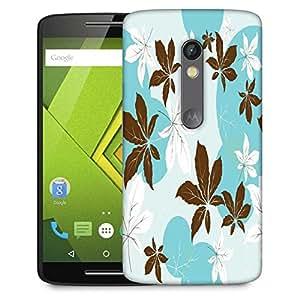 Snoogg Pink Flowers Designer Protective Phone Back Case Cover For Lenovo Motorola Moto G4