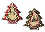 Tannenbaum Dekoteller Weihnachten Christbaum Gebäckteller Teller Advent