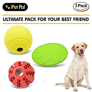 ipet pal king kong dog toy indestructible (set of 3). - dogs ball, treat ball, dog frisbee. good alternative for dog tennis ball. cute dog xmas gifts for the holidays! iPet Pal King Kong Dog Toy Indestructible (Set of 3). – Dogs Ball, Treat Ball, Dog Frisbee. Good alternative for dog tennis ball. Cute dog xmas gifts for the holidays! 51GEZQoW kL