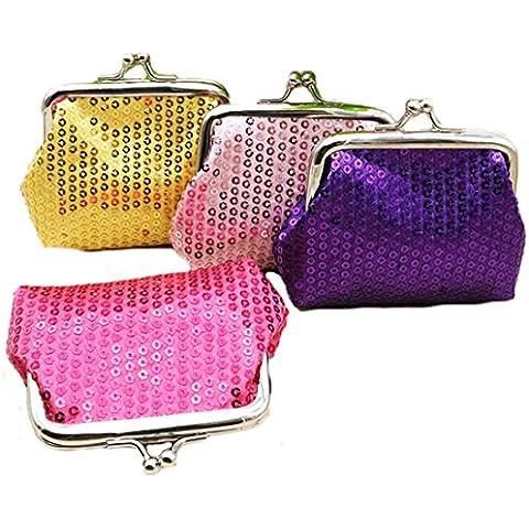 Isuperb®-Custodia a borsetta in tela, 4 confezioni regalo, gioielli e
