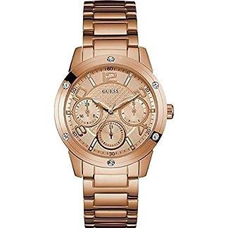 Guess W0778L3 – Reloj de pulsera Mujer, Acero inoxidable, color Oro Rosa