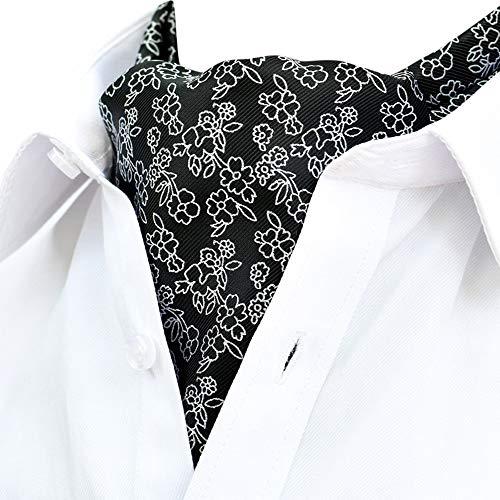 Dorical Herren Krawattenschal Schal Fashion Gentleman Ties/zum Anzug oder Smoking/für Alle Männer das Perfekte Geschenk In Party Hochzeit Valentinstag Vatertag Weihnachten