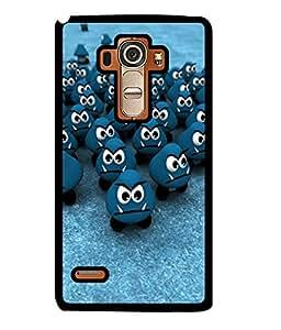 Fuson 2D Printed Cartoon Designer back case cover for LG G4 STYLUS - D4461