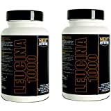 2 paquets Next Nutrition Les acides aminés leucine suppléments naturels - 90 comprimés 1000 mg de leucine par comprimé Un total de 180 comprimés