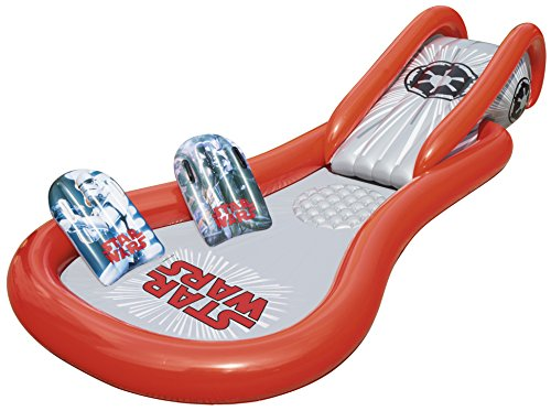 Bestway Star Wars Space Slide and Pool, Multicolor
