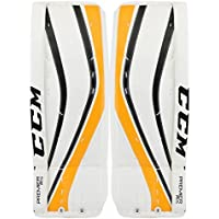 CCM Premier R1.5 Goalie Pads Junior, size:24 + 1 Zoll;color:weiss/schwarz