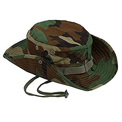 Qingsun Bonnet de Soleil Anti-UV Plage pour homme Unisexe chapeau