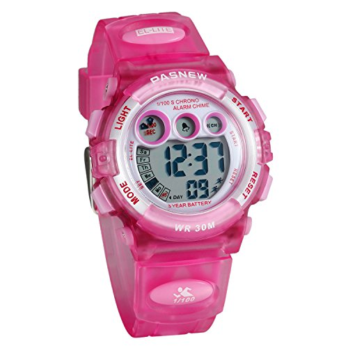 168dcc9bc7be Lancardo Reloj Deportivo Resistente al Agua de 30M de Multifunción Pulsera  Digital Impermeable de Moda Retroiluminación con Luces para Deportes  Exteriores ...