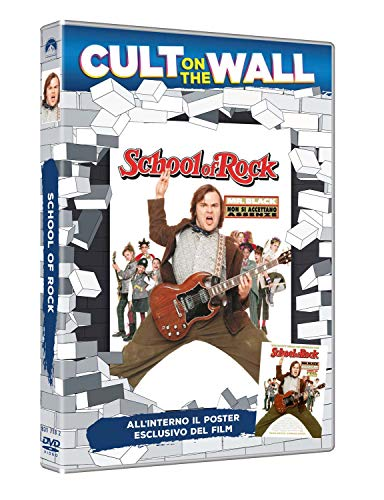 Dvd - School Of Rock (Cult On The Wall) (Dvd+Poster) (1 DVD)