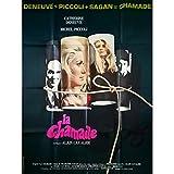 LA CHAMADE Affiche de film - 120x160 cm. - 1968 - Catherine Deneuve, Piccoli,...