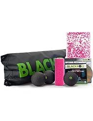 All-in-One BLACKROLL 4er Set mit Faszienrolle, Ball, Duoball, Minirolle und praktischer Tasche   verschiedene Härtegrade
