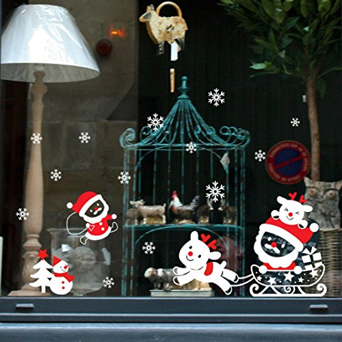t Sale. lifetrend Weihnachten Schneemann entfernbare Wandsticker Home Fenster vinyl Aufkleber Decor, PVC, D, Einheitsgröße (Frozen Glow-sticks)