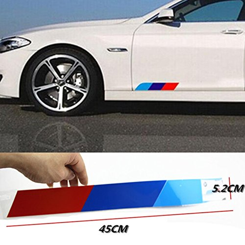 Biznon M Sport Performance Tech Power Log 45 cm Lang Emblem Aufkleber Fit BMW Serie 1 2 3 5 6 7 8 Z3 Z4 M3 M5 M6 x 1 X2 X 3 X4 X 5 X6 i3 i8