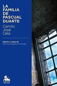 La familia de Pascual Duarte par Camilo José Cela