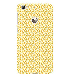 EPICCASE orangy leaf Mobile Back Case Cover For LeEco Le 1s Eco (Designer Case)