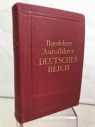 Deutsches Reich (Grossdeutschland) : Offizieller Führer d. Dt. Automobil-Clubs.