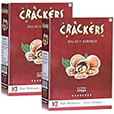 Crackers Kashmiri Brown Walnuts kernels 500 gm (250gm x 2)-Without Shell