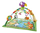 Enlarge toy image: Fisher-Price Music and Lights Deluxe Rainforest Gym Playset