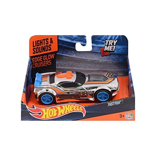 Hot Wheels Coches con luz y Sonidos (Toy State 90514)