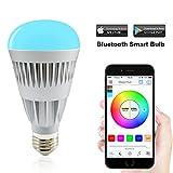 MagicHue Neu Farbige Leuchtmittel Smart LED Bluetooth Lampe Sunrise dimmbar Sonnenaufgang E27 und...